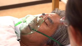 video titel: old dying guy hires harem of women to pleasure him all day long || porn tgas: gay,group,japanese,old and young,