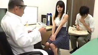 video titel: Delicious Wife in the Intensive Treatment of the Perverted Doctor SEE Complete || porn tgas: asian,big tits,cuckold,doctor,
