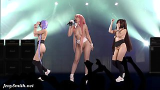 video titel: Naked Singer on stage. Virtual Reality || porn tgas: naked,reality,