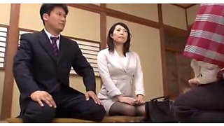video titel: Cuckold Asian hubby watches his wife having sex || porn tgas: asian,big tits,creampie,cuckold,