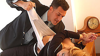 video titel: Luciana Heger gets Her Clothes Ripped Off in a Hot Office Fuck || porn tgas: office,bravotube