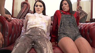video titel: Exotic pornstars Valentina Nappi and Maria Fiori in amazing big tits, european porn clip || porn tgas: 3some,amazing,big tits,brazilian,