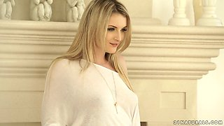 video titel: Desirable blonde beauty Jemma Valentine gets drilled well || porn tgas: beauty,blonde,drilling,xcafe