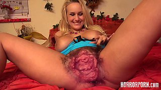 video titel: Blonde MILF With Pussy Monster Which You Have Never Seen    porn tgas: big cock,big tits,blonde,blowjob,videotxxx