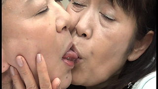 video titel: Older Japanese Lesbians Hardcore Kiss Young Lady At Doctor || porn tgas: asian,brunette,doctor,granny,xhamster