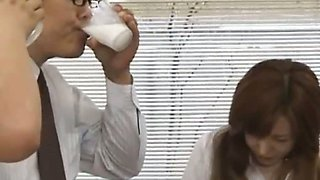video titel: Asian secretary from Tokyo with bum milk || porn tgas: asian,milk,secretary,nuvid