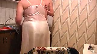 video titel: Guy fucks aunt at the kitchen    porn tgas: amateur,aunty,fuck,gay,yourlust