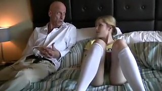 video titel: Old Dad fucks step daughter Skyla || porn tgas: daddy,daughter,fuck,old and young,hotmovs